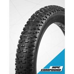 Copertone Fat bike 26x 4.5 120TPI Black.