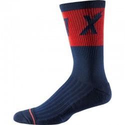 "Calza Fox Racing 8"" Trail Cushion Socks Wurd Navy"