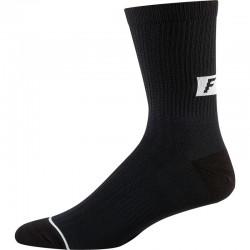 "Calza Fox Racing 8"" Trail Cushion Socks Black"