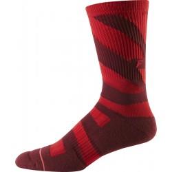 "Calza Fox Racing 8"" Trail Cushion Socks Red"
