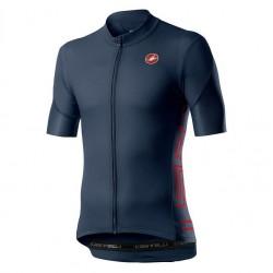 Maglietta Castelli Entrata V Jersey Blue 2020