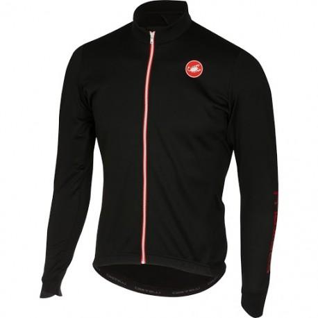 Maglietta Invernale Castelli Puro 2 Jersey Fz Black 2018