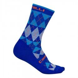 Calza Invernale Castelli Diverso Sock Blue 2019