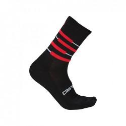 Calza Invernale Castelli Incendio 15 Socks Nera 2019