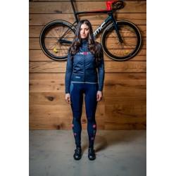 Pants con fondello Castelli e UltimoKilometro da donna