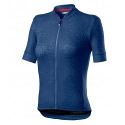 Maglietta Promessa Jacquard Jersey Blue